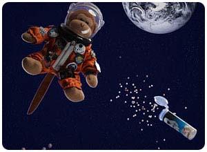 astronaut ice cream balls