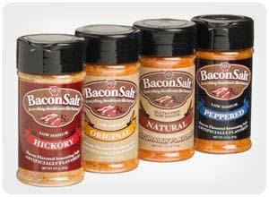 bacon salt sampler