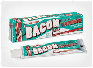 bacon tooth paste