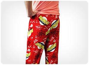 bazinga pajama bottoms