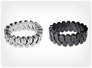 bike chain cuff bracelets