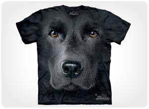 black lab tshirt