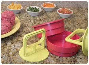 burger pocket press