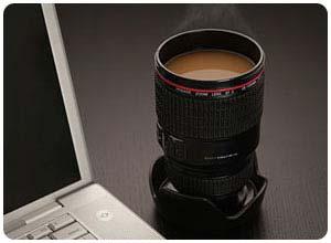 Kameraobjektivbecher