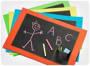 chalkboard placematsE