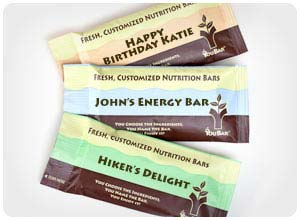 Custom Energy Bars From Youbar