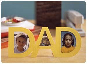 dad cutout frame