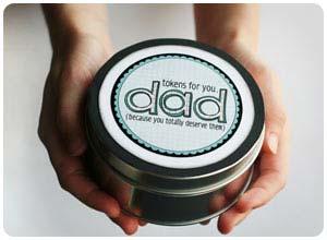 dad's token tin