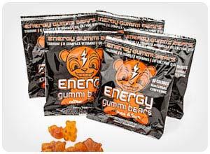 energy gummi bears