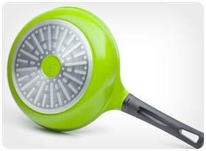 green earth ceramic nonstick frying pan