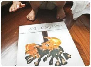 hand print art