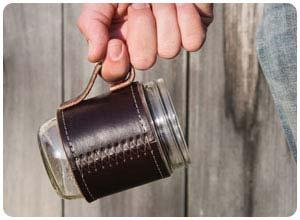 holdster mason jar travel mug