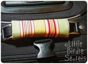 luggage handle cover