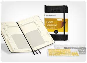 moleskin beer journal