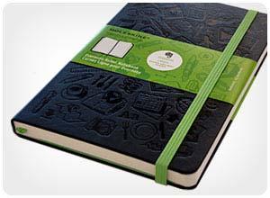 moleskine smart evernote notebook