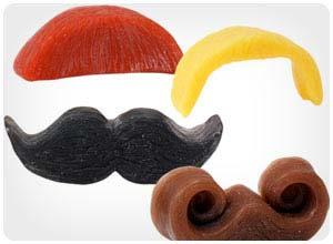 mustache soap