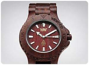 natural wooden watch