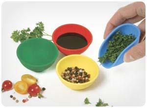 norpro silicone mini pinch bowls