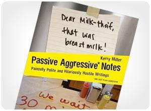 passive aggressive Noten