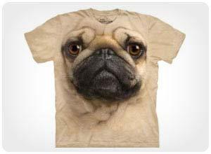 pug face tshirt