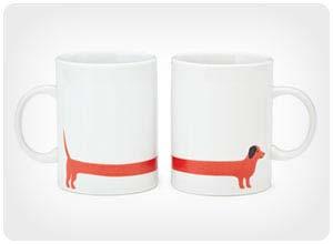 red dog mug set