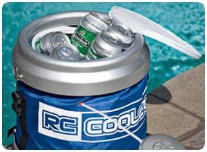 remote control beverage cooler