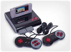 retro nes/snes game system