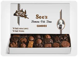 see's custom candy box