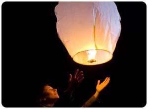 sky lanterns mini hot air balloon
