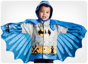 superhero raincoat