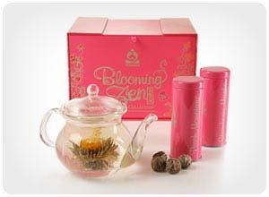 teavana blooming tea gift set