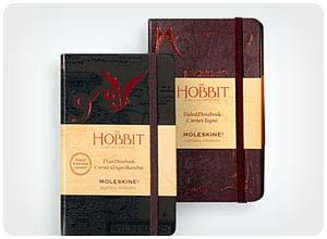 the hobbit moleskine notebooks