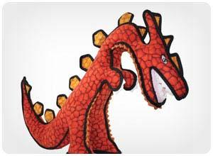 tuffy dinosaur indestructable dog toy
