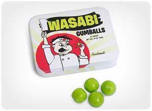 wasabi gumballs