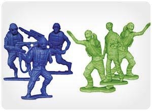 zombies vs, zombie hunters figures