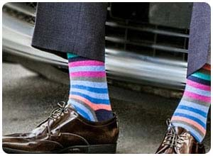 zoraab colorful men's socks
