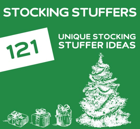 Christmas Stocking Stuffers 121 unique stocking stuffer ideas | dodo burd