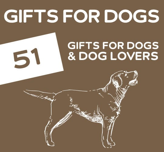 51 Pawsome Gifts for Dogs & Dog Lovers. This list has a TON of unique gift ideas for dogs and people that love dogs.