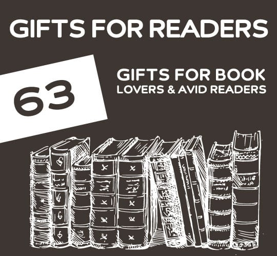63 Gifts For Book Lovers Avid Readers Great Gift Ideas Anyone That Loves