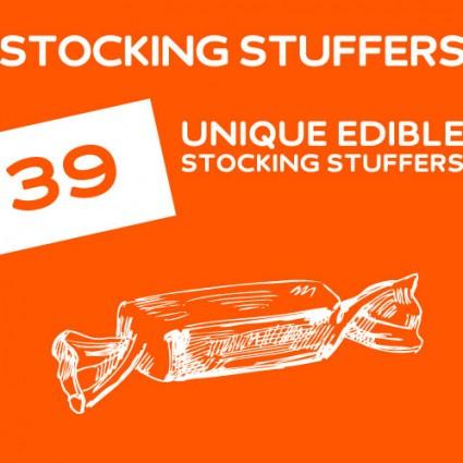 39 Unique Edible Stocking Stuffers Dodoburd