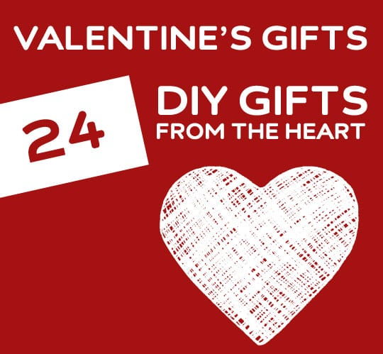 So many great DIY Valentine's Day gift ideas! You need to check this ...
