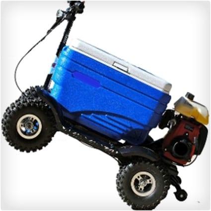 Blue Crazy Cooler