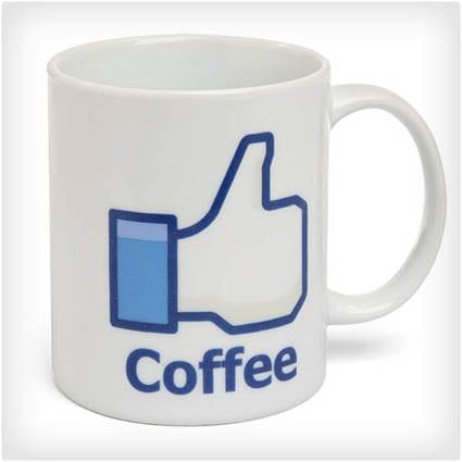 Facebook Like Coffee Mug