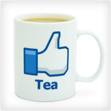 Facebook Like Tea Mug
