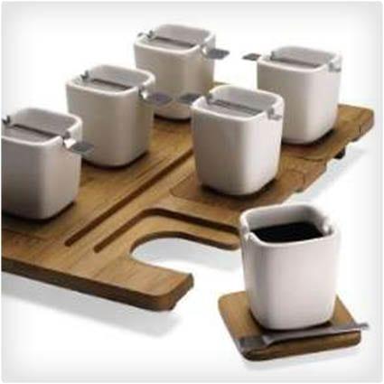 Functional Espresso Serving Set