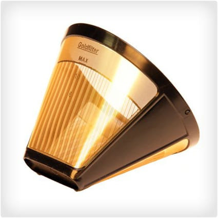 Gold Plated Coffee Filter