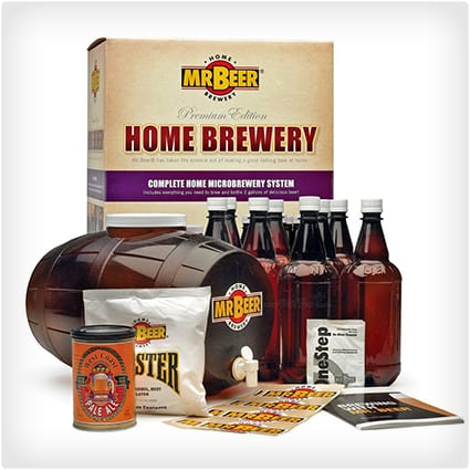 mr beer brewing kit