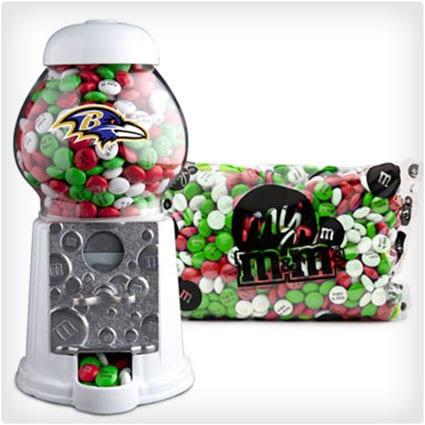NFL M&M Dispenser