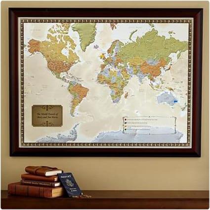 Travel Destination Map