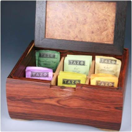 Unique Wooden Tea Box